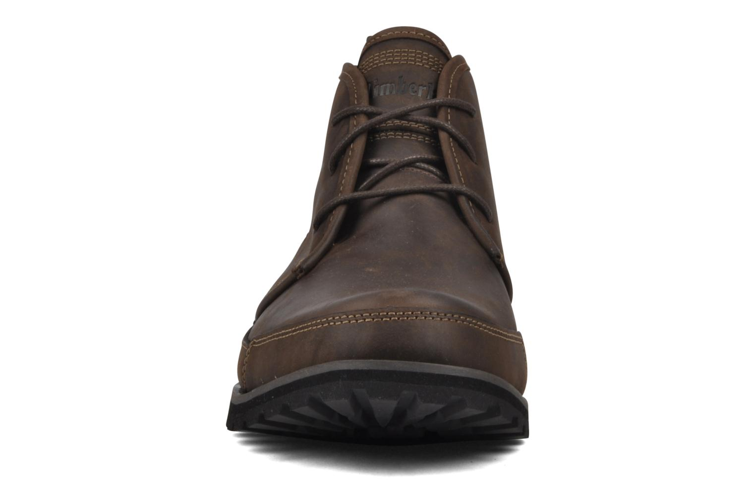 Chaussures à lacets Timberland Earthkeepers Barentsburg Leather Chukka Marron vue portées chaussures