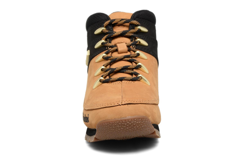 Stiefeletten & Boots Timberland Euro sprint Kids braun schuhe getragen
