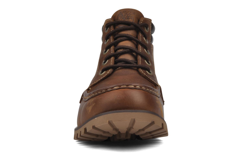 Bottines et boots Timberland 5I HS Tan flash tan Marron vue portées chaussures
