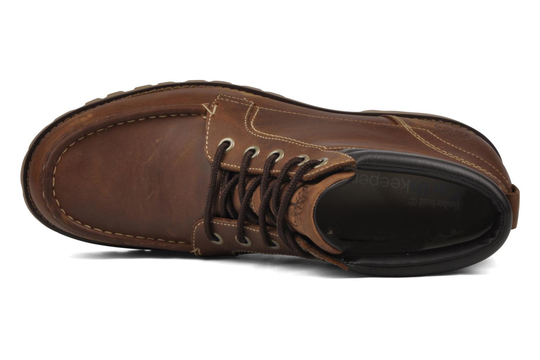 Bottines et boots Timberland 5I HS Tan flash tan Marron vue gauche