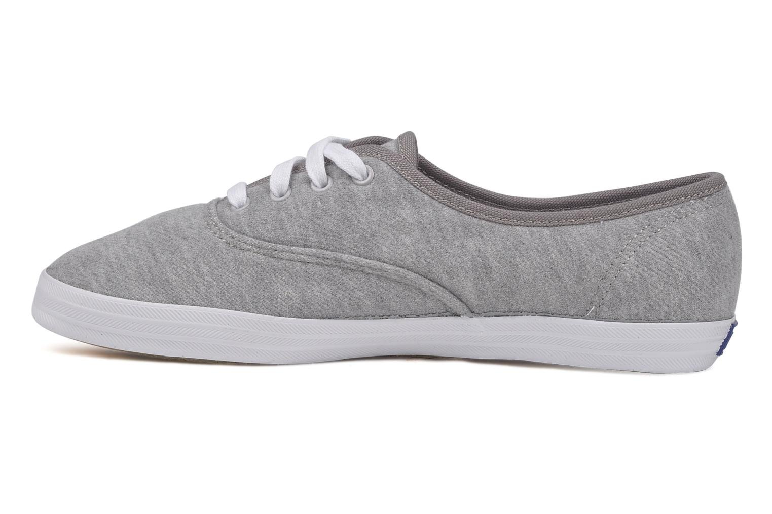 Trainers Keds Champion jersey Grey front view