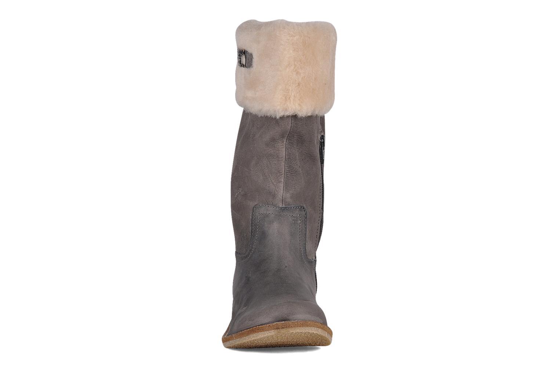 Stiefeletten & Boots Le temps des cerises Forea grau schuhe getragen