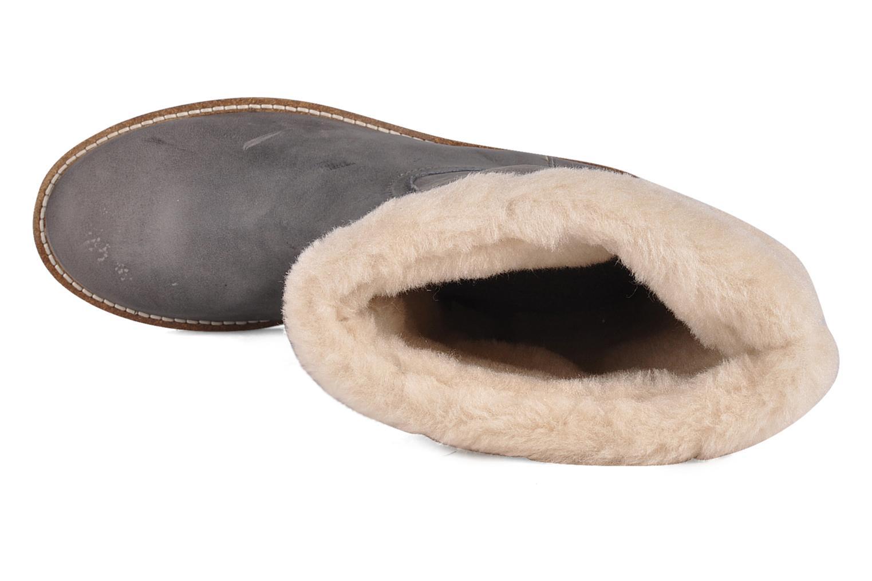 Stiefeletten & Boots Le temps des cerises Forea grau ansicht von links