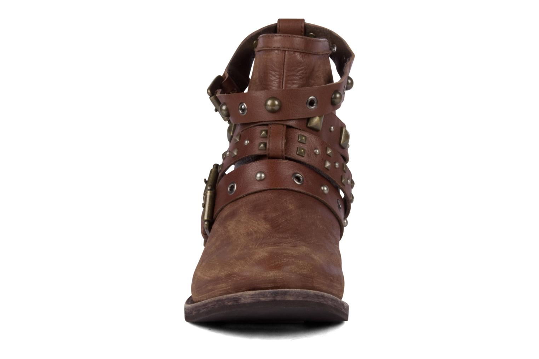 Bottines et boots Studio TMLS Teresina Marron vue portées chaussures