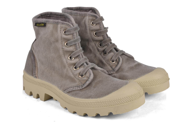 Sneakers Palladium Pampa high vnt 14466 Grigio immagine 3/4