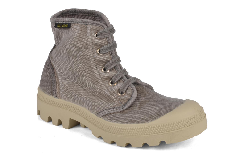 Sneakers Palladium Pampa high vnt 14466 Grigio vedi dettaglio/paio