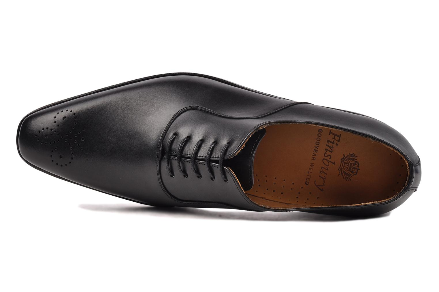 Lace-up shoes Finsbury Harlow Black view from the left