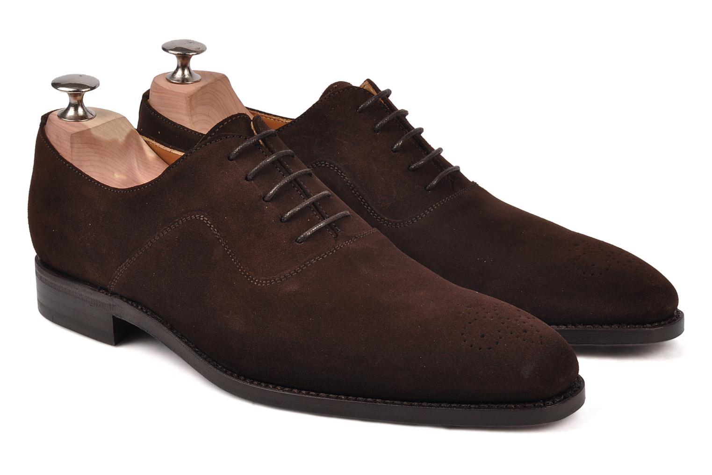 Chaussures à lacets Finsbury Harlow Marron vue 3/4
