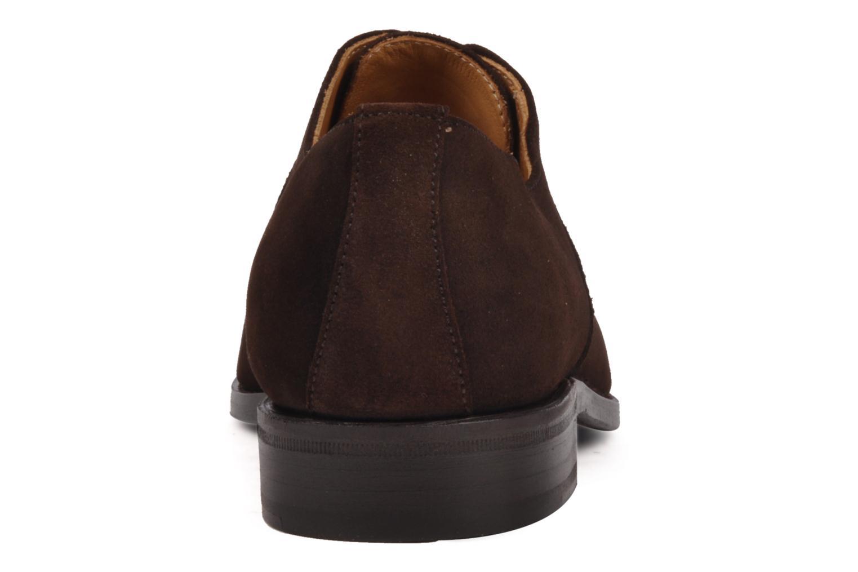 Chaussures à lacets Finsbury Harlow Marron vue droite