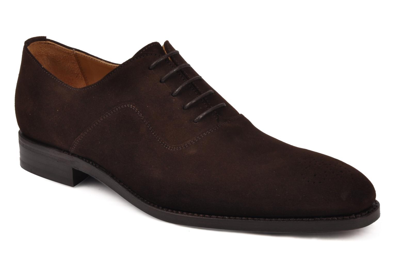 Chaussures à lacets Finsbury Harlow Marron vue détail/paire