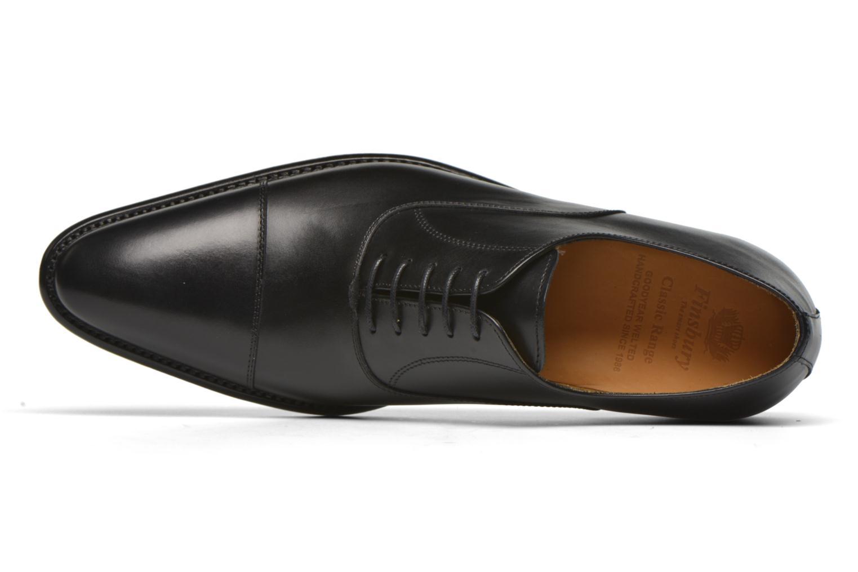 Chaussures à lacets Finsbury Consul Noir vue gauche
