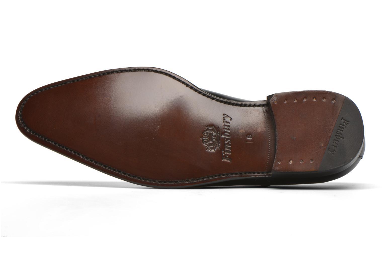 Chaussures à lacets Finsbury Consul Noir vue haut