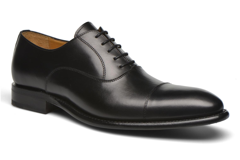 Chaussures à lacets Finsbury Consul Noir vue détail/paire