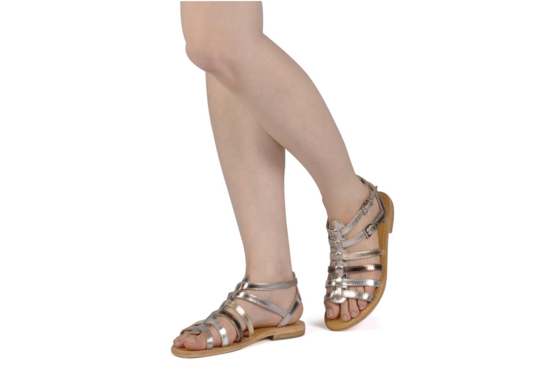 Sandali e scarpe aperte Les Tropéziennes par M Belarbi Hic Argento immagine dal basso
