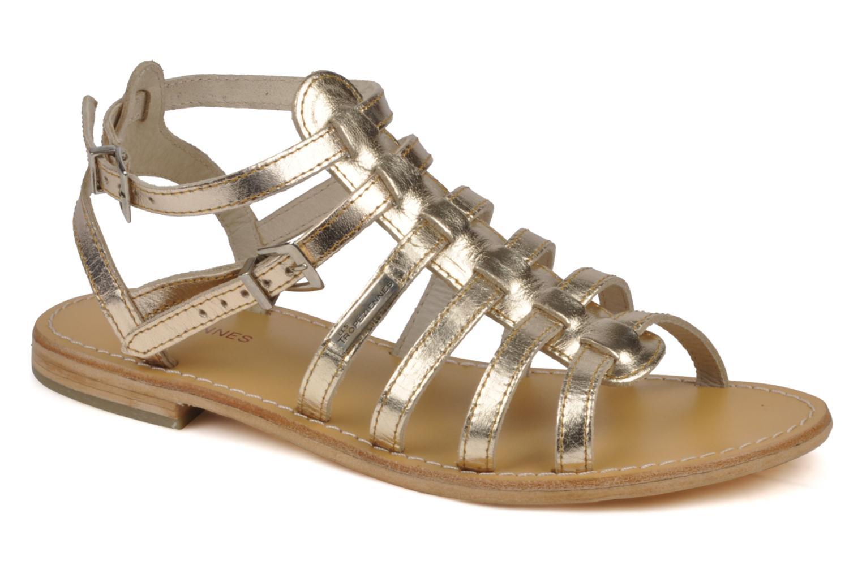 Sandalen Les Tropéziennes par M Belarbi Hic gold/bronze detaillierte ansicht/modell