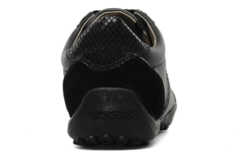 Baskets Geox D snake b Noir vue droite
