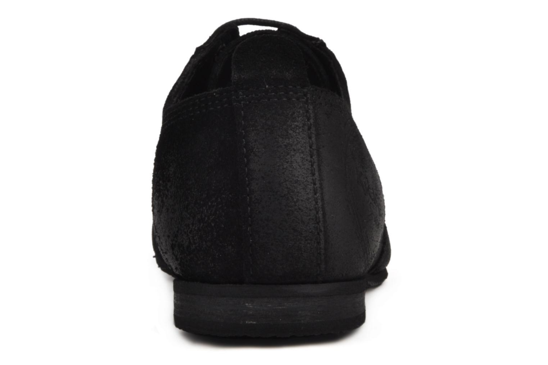 Chaussures à lacets Kickers Koncept Noir vue droite