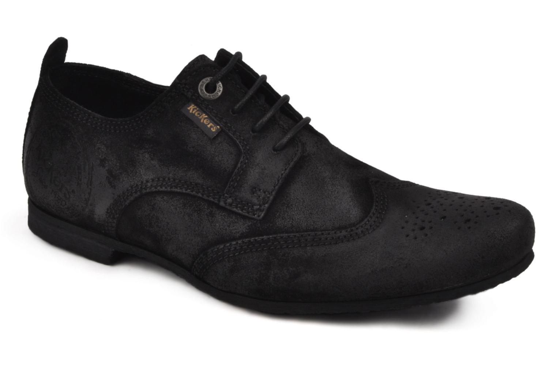 Chaussures à lacets Kickers Koncept Noir vue détail/paire