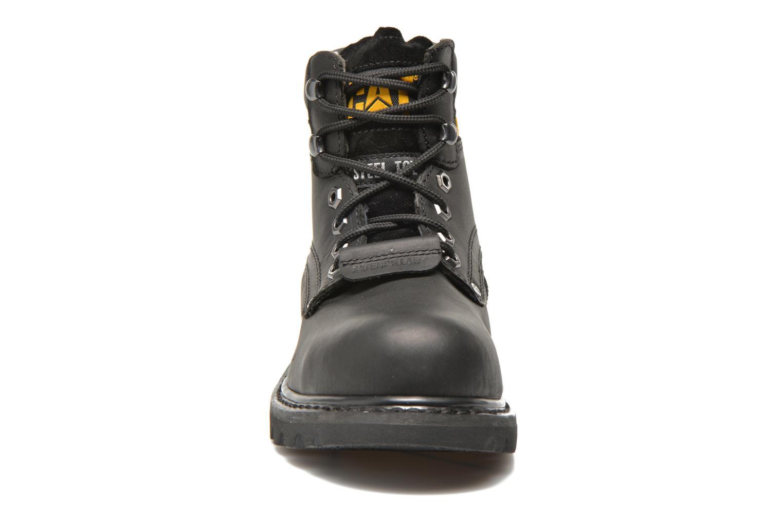 Stiefeletten & Boots Caterpillar Sheffield ST schwarz schuhe getragen