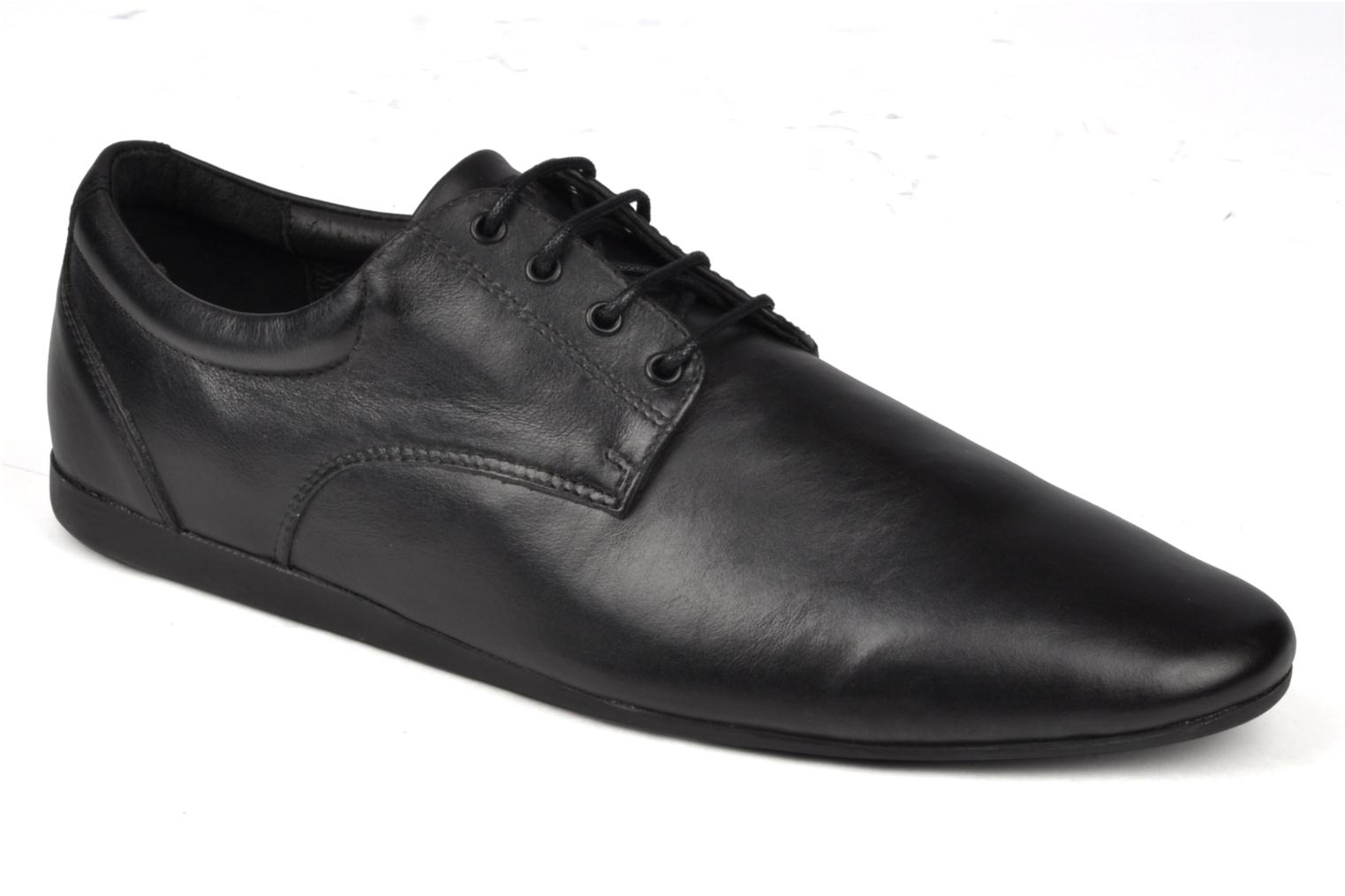 Lace-up shoes Schmoove Fidji New Derby Black detailed view/ Pair view