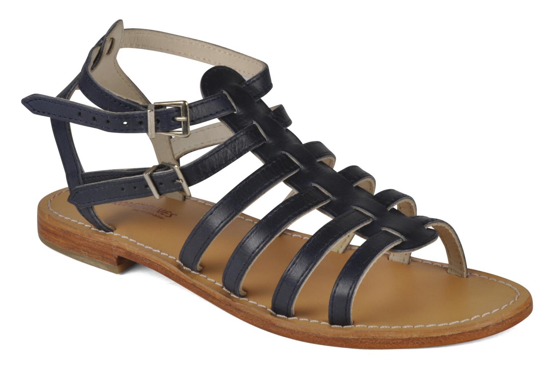 Sandales et nu-pieds Les Tropéziennes par M Belarbi Hicare Bleu vue détail/paire