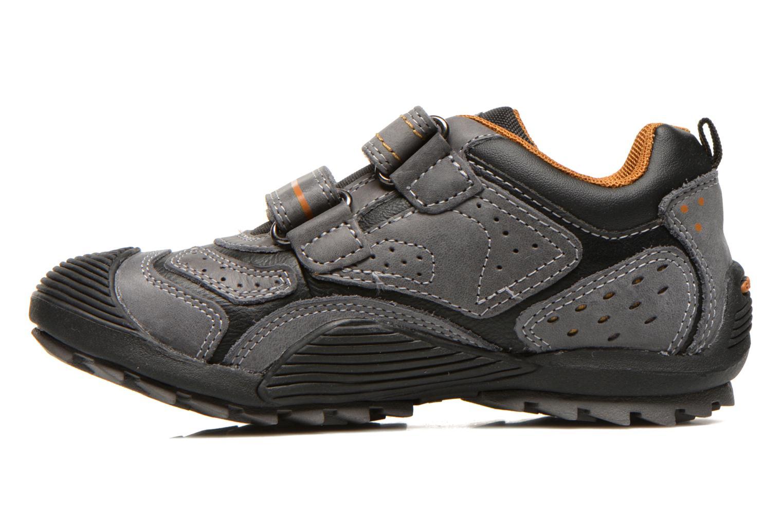 Chaussures de sport Geox J savage a Gris vue face