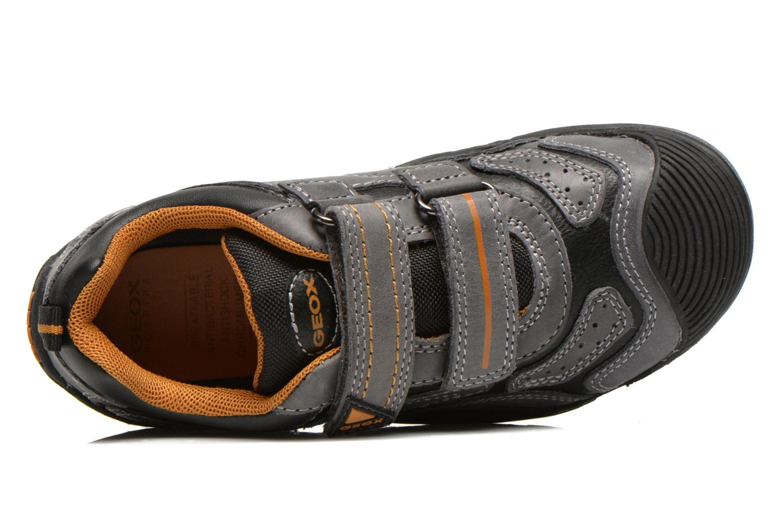 Chaussures de sport Geox J savage a Gris vue gauche