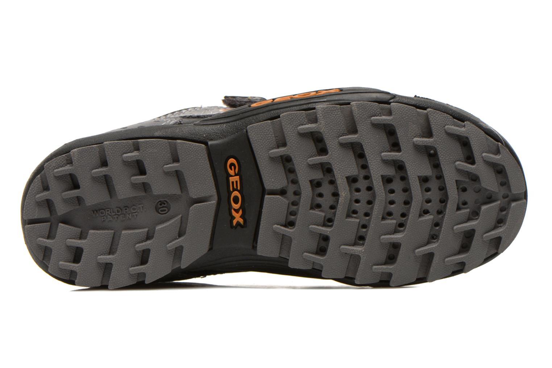 Chaussures de sport Geox J savage a Gris vue haut