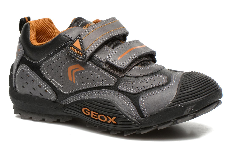Chaussures de sport Geox J savage a Gris vue détail/paire