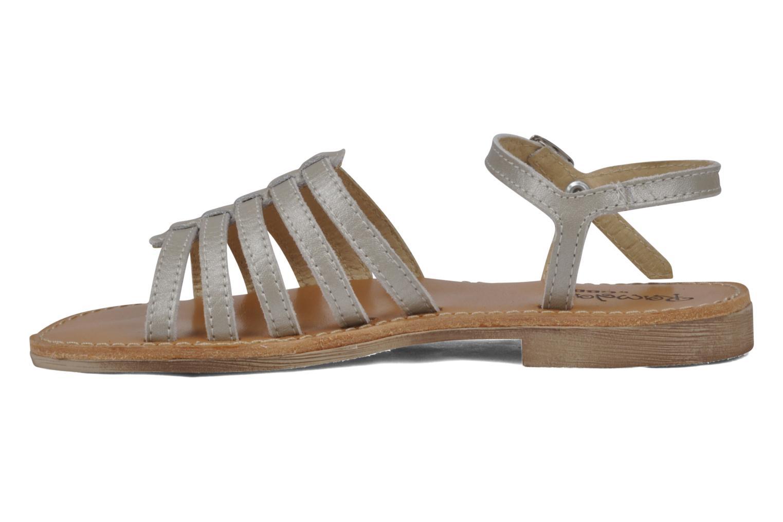 Sandalen GBB Laponie Zilver voorkant