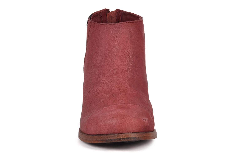 Bottines et boots Camper Annie alto 46335 Rouge vue portées chaussures