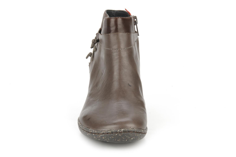 Bottines et boots Camper Peu nara 46279 Marron vue portées chaussures