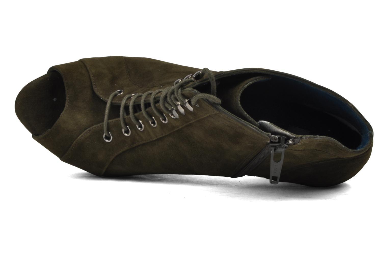 Nuage velours kaki
