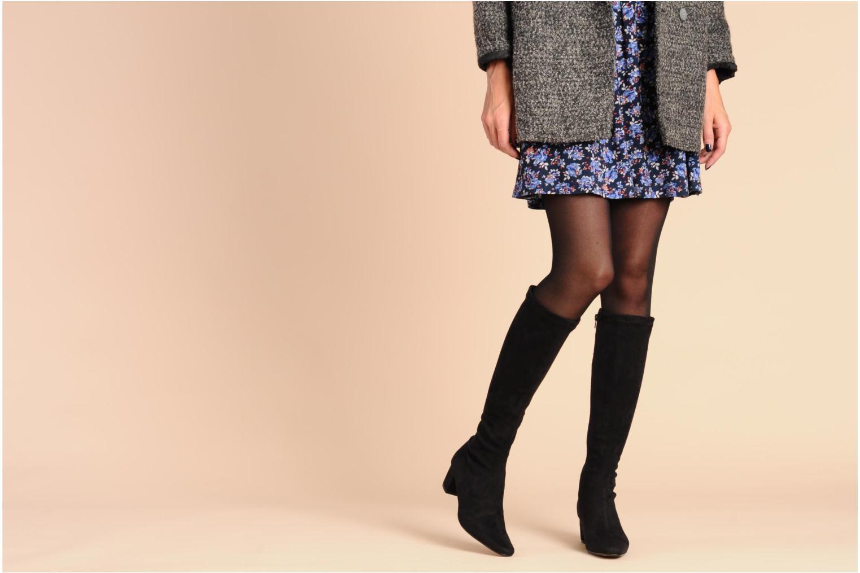 Stiefel Georgia Rose Iwalani stretch schwarz ansicht von unten / tasche getragen