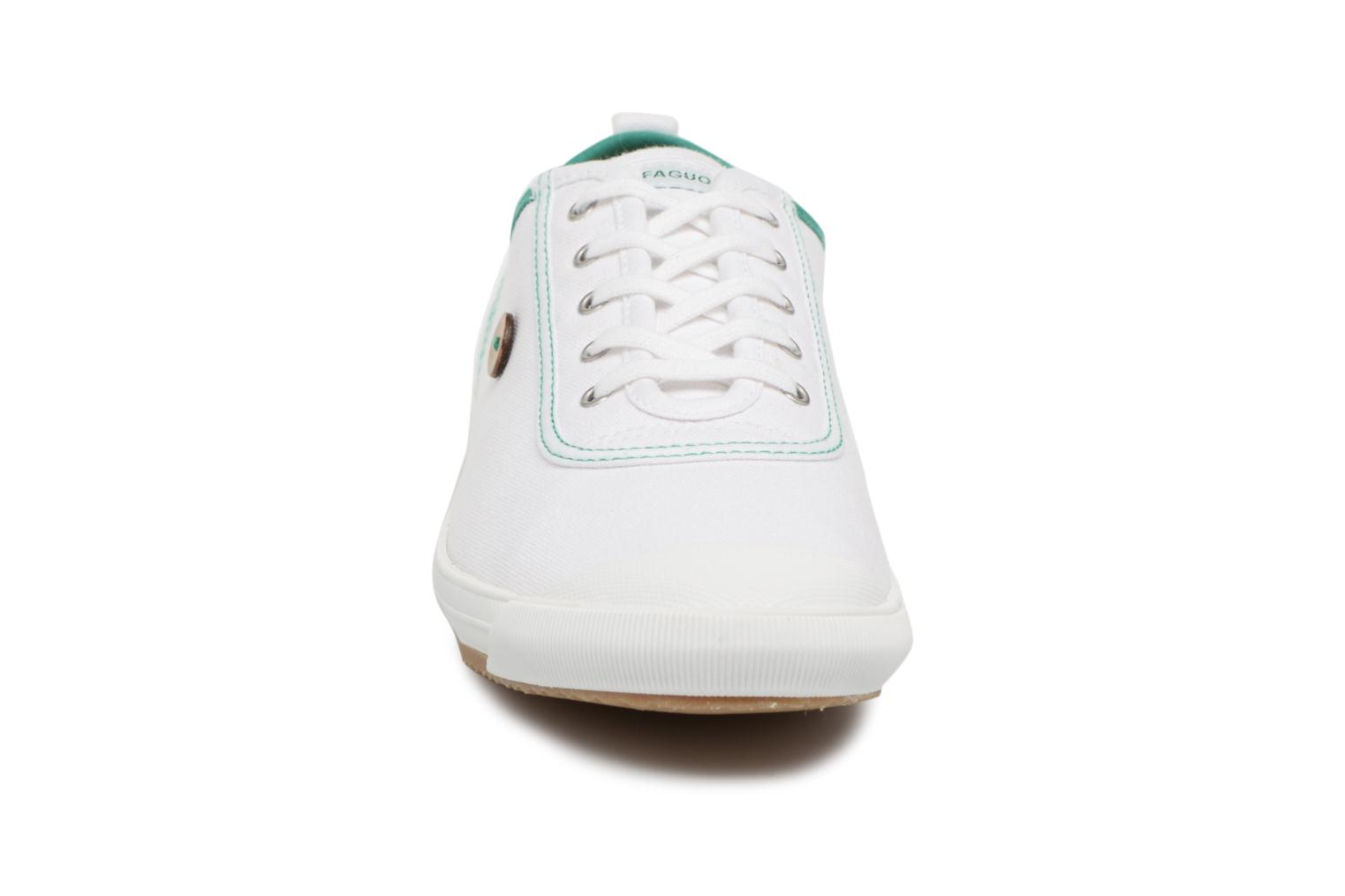 Trainers Faguo Oak m White model view