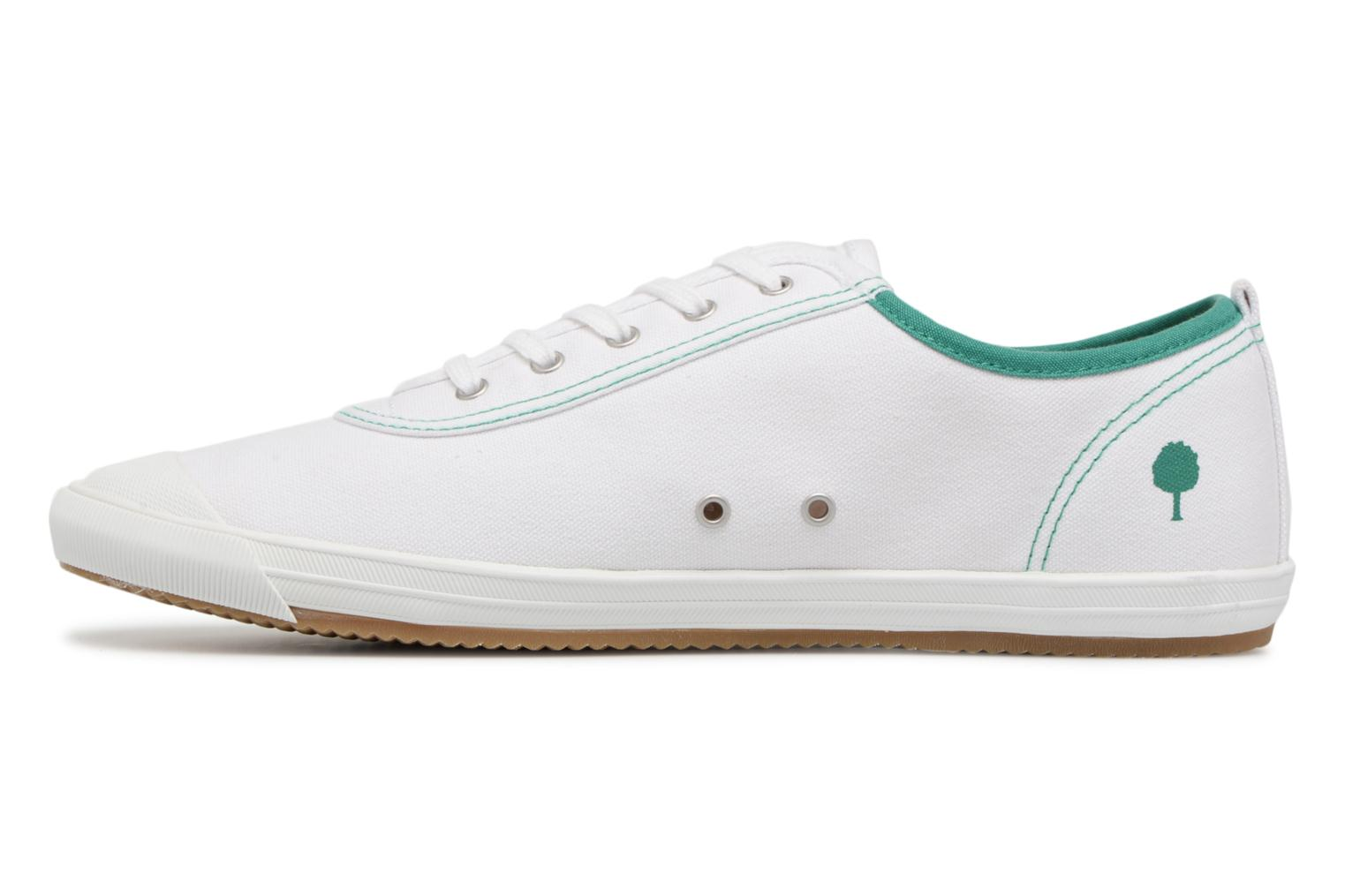 Trainers Faguo Oak m White front view