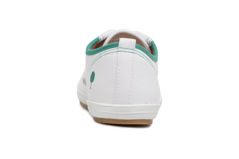 Sneaker Faguo Oak m weiß ansicht von rechts