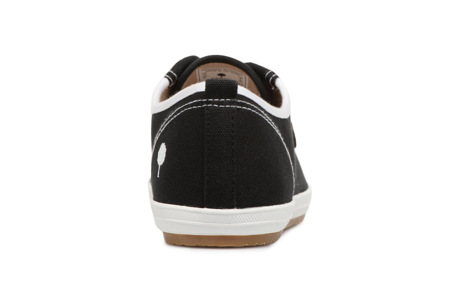 Trainers Faguo Oak m Black view from the right