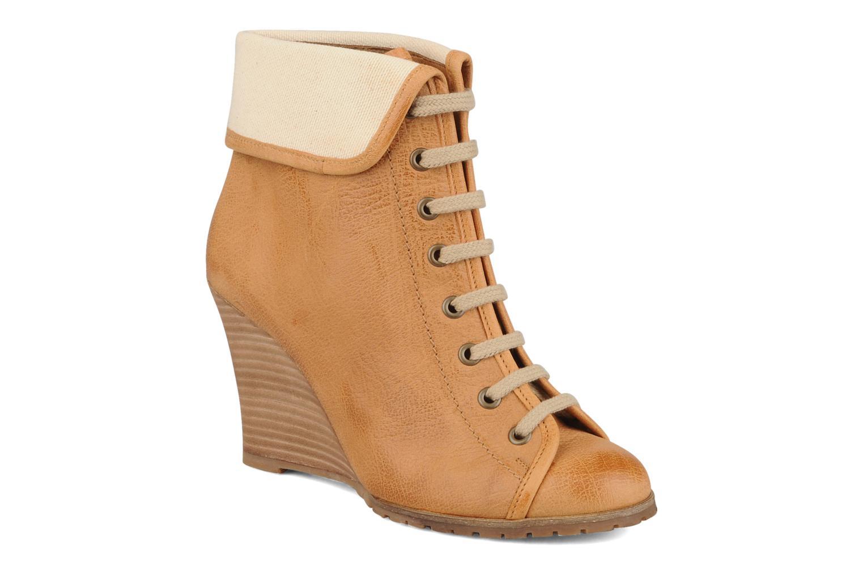 Boots en enkellaarsjes Jonak Daortos Bruin detail