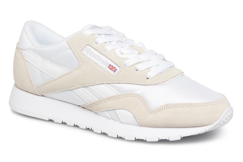 Zapatos promocionales Reebok Classic Nylon W (Beige) - Deportivas   Casual salvaje