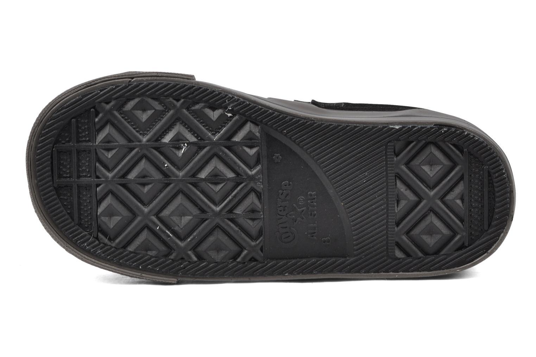 Sneaker Converse Star player 2v suede ox schwarz ansicht von oben
