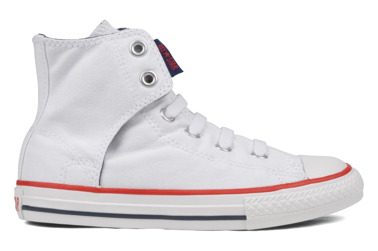 Sneakers Converse Chuck taylor all star easy slip hi K Wit achterkant