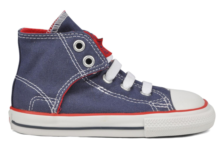 Sneakers Converse Chuck taylor all star easy slip hi K Blauw achterkant