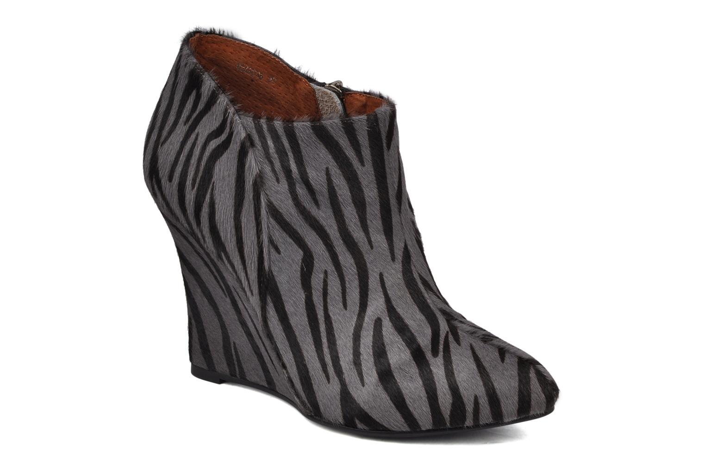 Bottines et boots Friis & company Primula Gris vue détail/paire