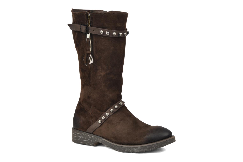 Boots en enkellaarsjes Dkode Melita Bruin detail