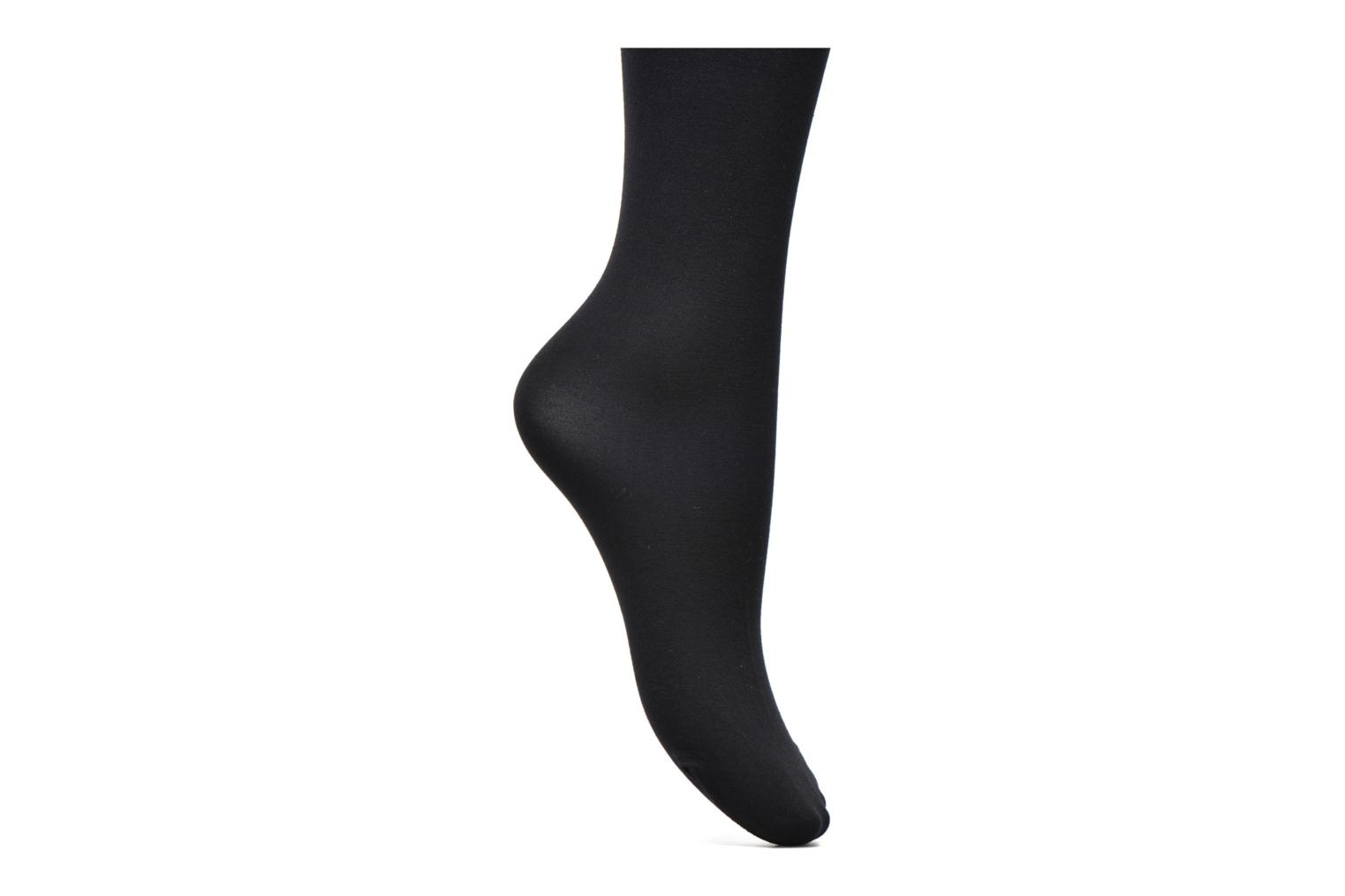 Socks & tights Falke Collant cotton touch Black back view