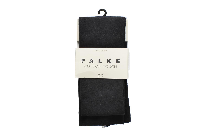 Chaussettes et collants Falke Collant cotton touch Noir vue détail/paire