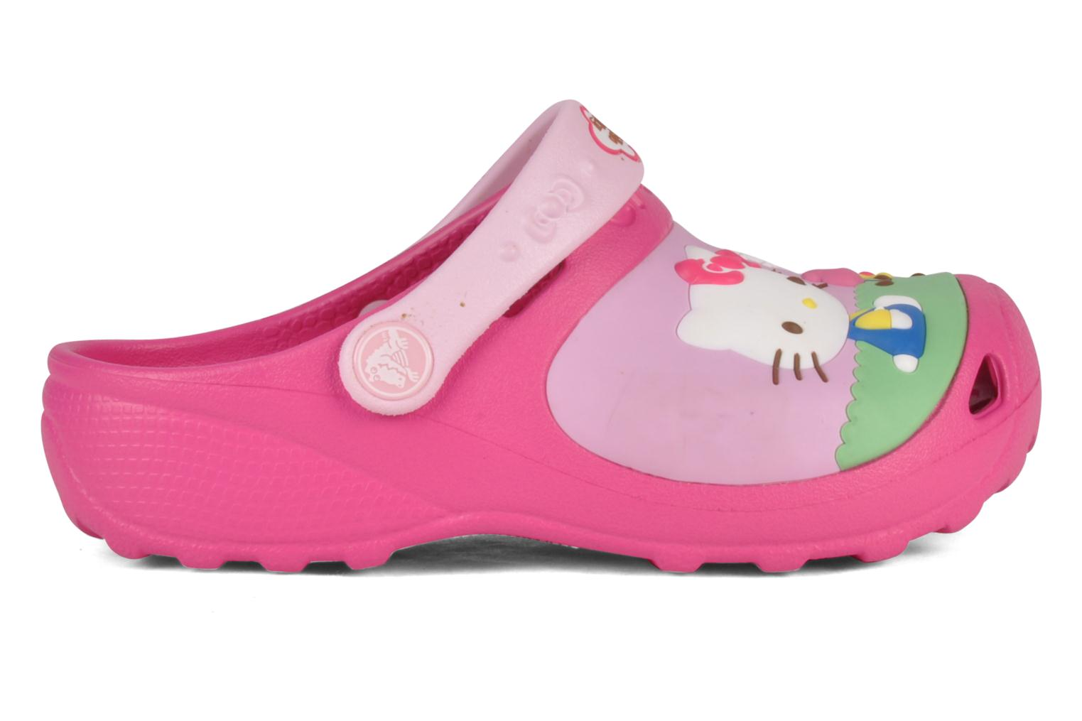 Sandalen Crocs Hello kitty custom clog Roze achterkant
