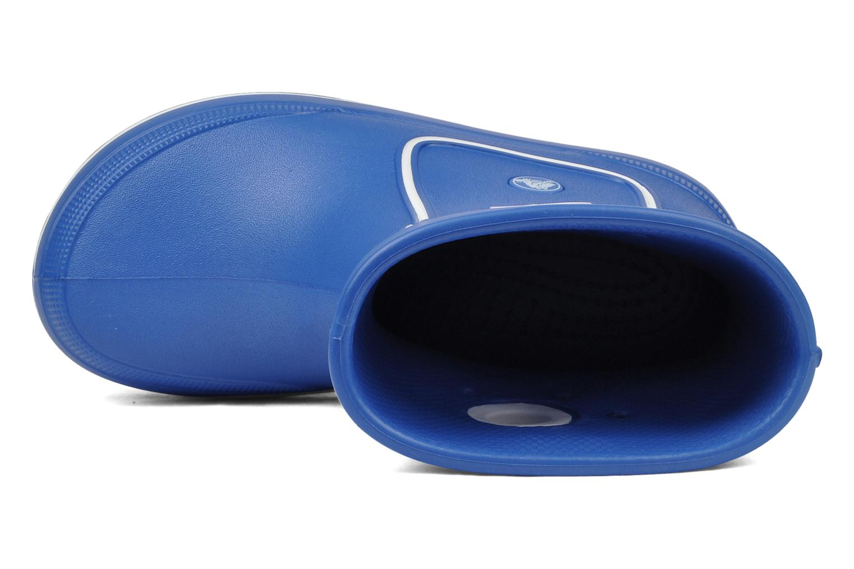 Bottes Crocs Crocband jaunt Bleu vue gauche