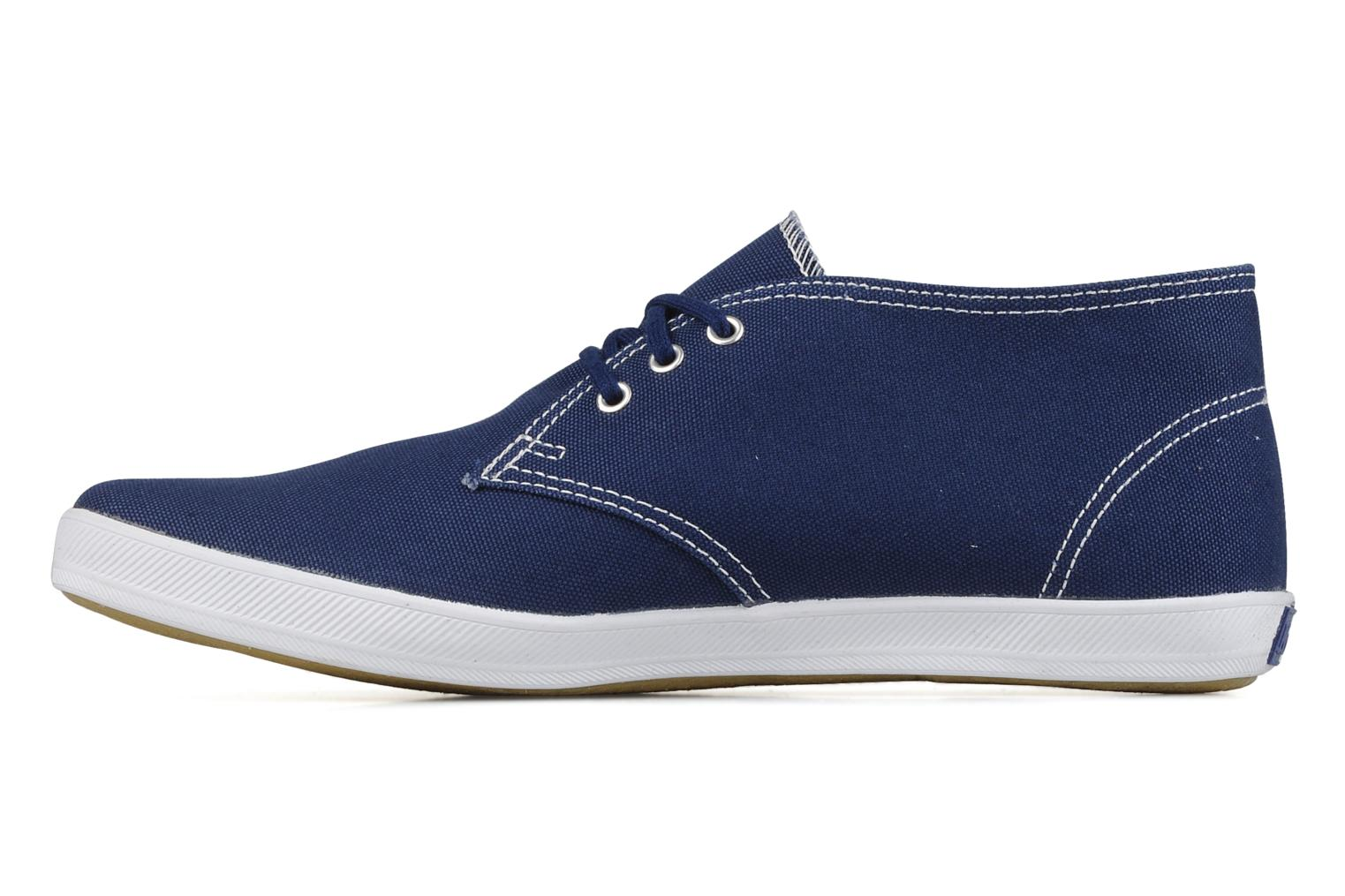 Trainers Keds Chukka Canvas Blue front view